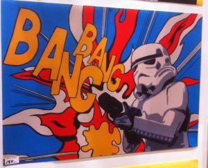 storm trooper from star wars bangbang