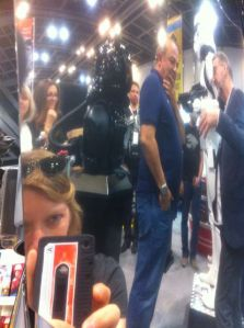 Andrew Ainsworth from Sheperton Design Studios at Middle East Comic Con